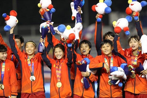 第30届东南亚运动会:越南代表团一日狂揽20金 hinh anh 1