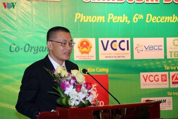 越柬两国企业十分关注跨境投资经营机会 hinh anh 2