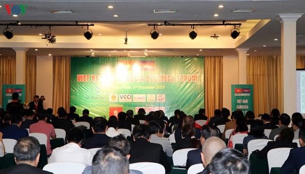 越柬两国企业十分关注跨境投资经营机会 hinh anh 1
