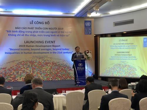 越南在人类发展方面取得许多进步 hinh anh 1