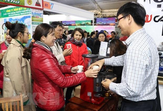 世界12个国家的嘉宾参加越南咖啡日活动 hinh anh 1