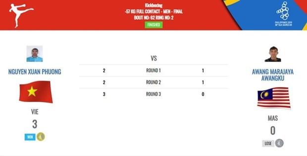 第30届东南亚运动会:越南获得96枚金牌 再次登上奖牌榜第二名 hinh anh 1