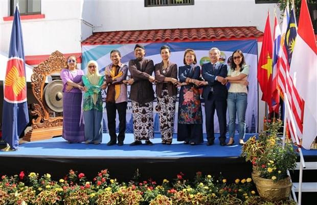 东盟各国在墨西哥推广传统文化之美 hinh anh 1