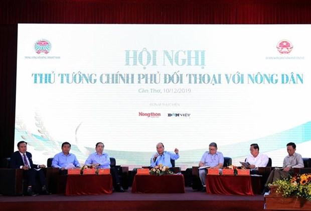 越南政府总理阮春福第二次同农民进行对话 hinh anh 1