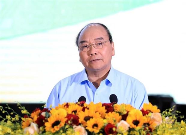 越南政府总理阮春福第二次同农民进行对话 hinh anh 3