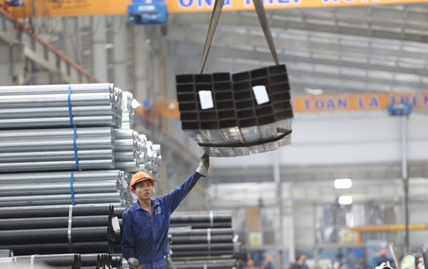 今年前11月和发集团钢管出口同比增长22.3% hinh anh 1