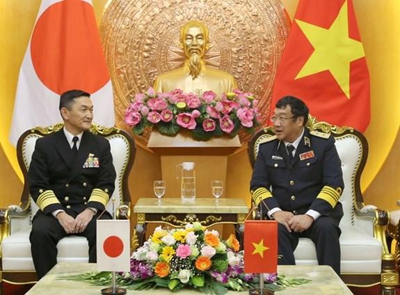越南与日本两国海军加强合作 hinh anh 2