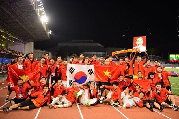 第30届东南亚运动会:印尼媒体承认越南U22球队更胜一筹 hinh anh 1