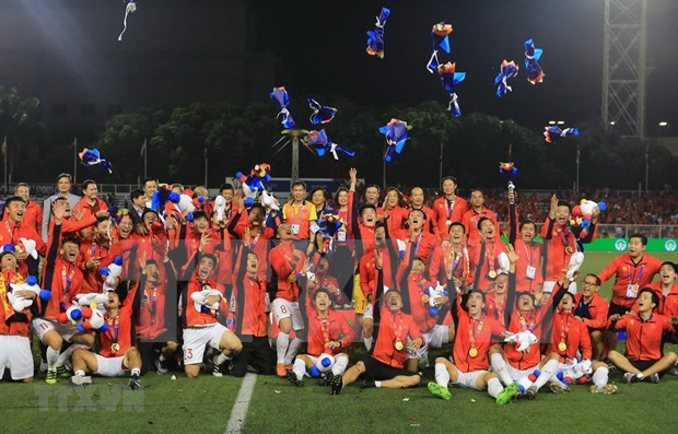 第30届东南亚运动会:亚洲媒体盛赞越南U22球队的历史性胜利 hinh anh 1