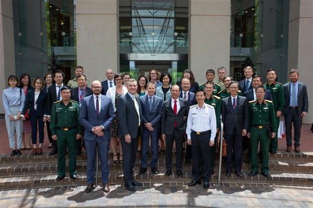 第7次越南与澳大利亚防务外交战略对话在堪培拉举行 hinh anh 1