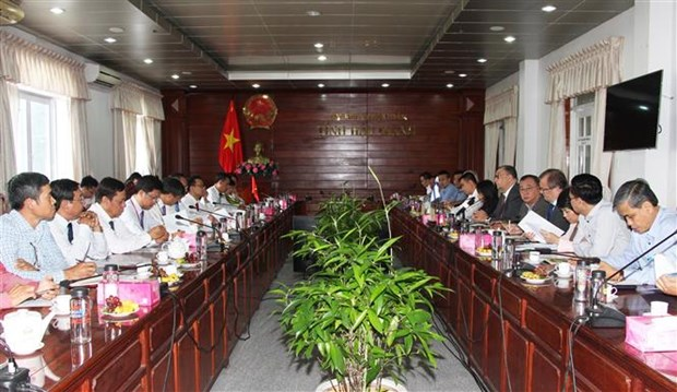 芬兰希望与后江省加强在优势领域的合作 hinh anh 1