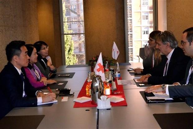 越南积极参与国际红十字与红新月运动 hinh anh 2