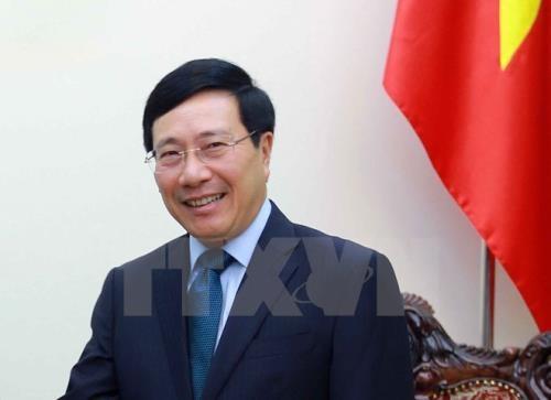 越南政府副总理兼外长范平明将出席第十四届亚欧外长会议 hinh anh 1