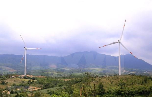 广治省向灵四号风电场将于2021年12月竣工 hinh anh 1