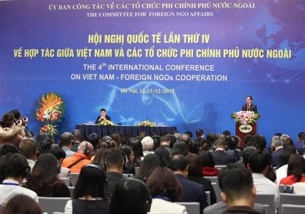 越南与外国非政府组织合作第四次国际会议开幕 hinh anh 1