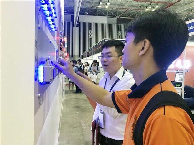 胡志明市辅助工业展览会吸引国内外300家企业参展 hinh anh 2