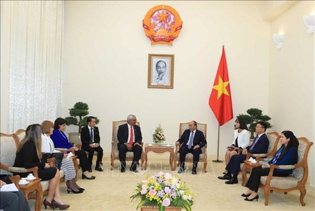 越南政府总理阮春福会见古巴司法部长 hinh anh 1