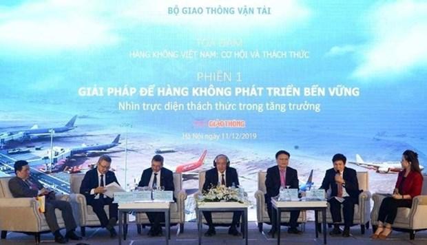 """""""越南航空业:机遇与挑战""""座谈会在河内举行 hinh anh 1"""