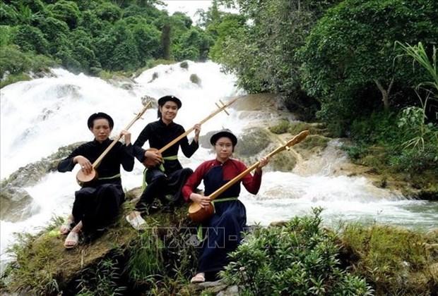 越南岱侬傣三族天曲正式被列入人类非物质文化遗产名录 hinh anh 1