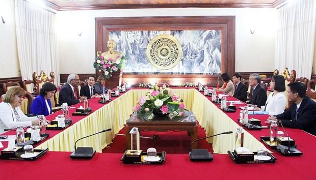 越南和古巴加强司法领域沟通与合作 hinh anh 1