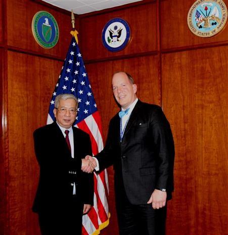 2019年越南与美国防务政策对话在华盛顿举行 hinh anh 1