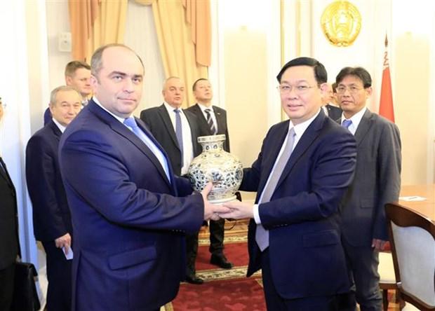 越南与白俄罗斯进一步加强经济、贸易与投资领域的合作 hinh anh 2