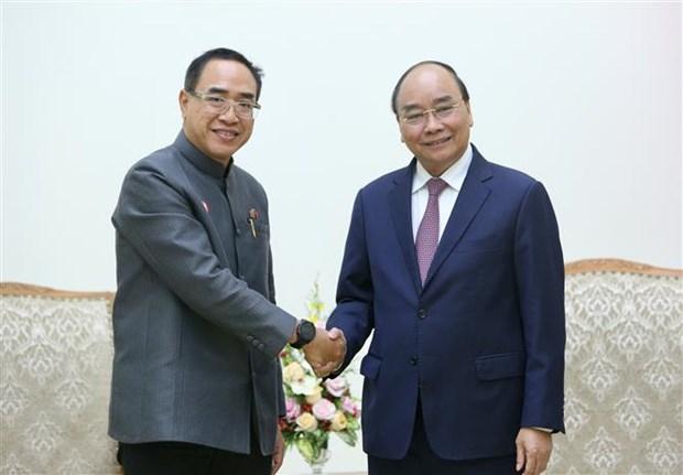 政府总理阮春福会见泰国驻越大使塔尼·桑加特 hinh anh 2