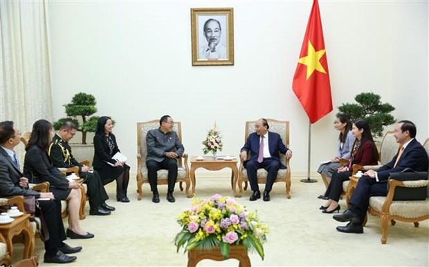 政府总理阮春福会见泰国驻越大使塔尼·桑加特 hinh anh 1