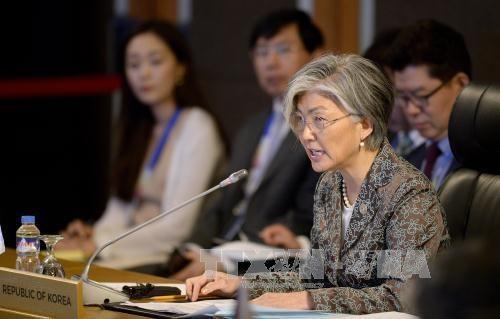 澳大利亚与韩国强调维护东海和平稳定的重要性 hinh anh 1