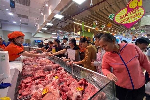 越南财政部建议下调鸡肉、猪肉进口税 hinh anh 1