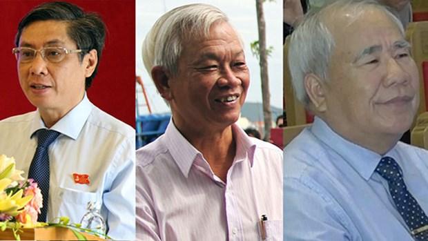 越南政府总理对庆和省部分领导、原领导干部进行纪律处分 hinh anh 1