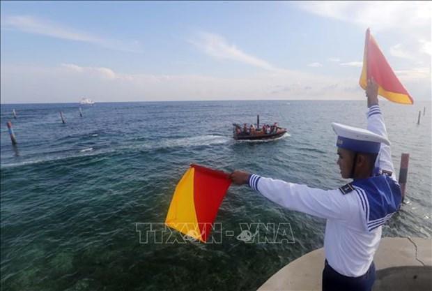 越南落实1982年《联合国海洋法公约》25周年:越南加强海洋国际合作(第三期) hinh anh 2
