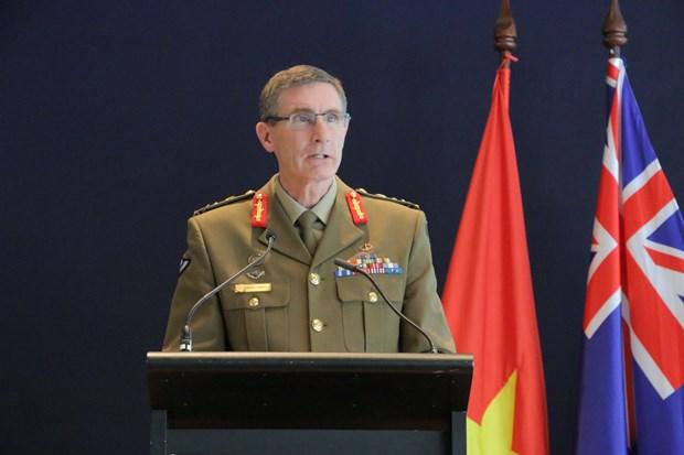 越南人民军成立75周年纪念活动在澳大利亚和老挝举行 hinh anh 1