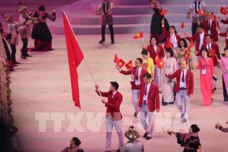 政府总理指导对SEA GAMES 30越南体育代表团表彰工作 hinh anh 1