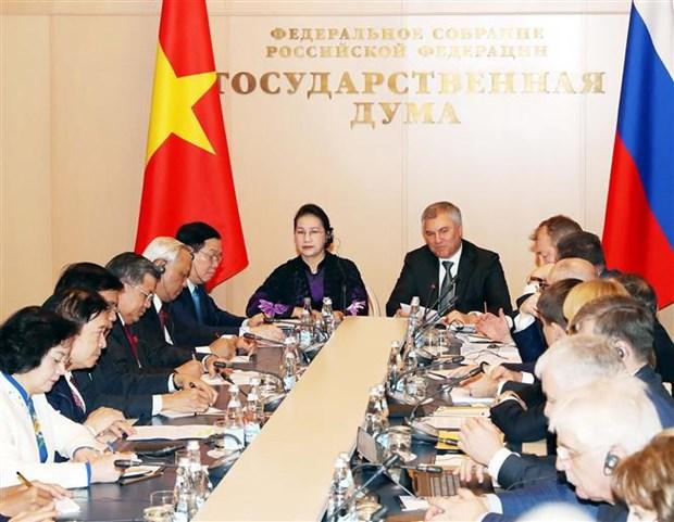 越南国会主席阮氏金银圆满结束对俄罗斯和白俄罗斯的访问之旅 hinh anh 2