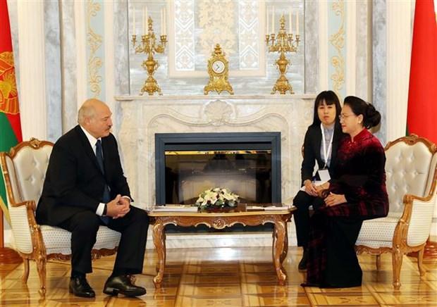 越南国会主席阮氏金银圆满结束对俄罗斯和白俄罗斯的访问之旅 hinh anh 1