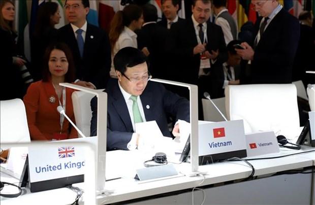 越南建议ASEM继续发挥其在促进多边合作和维护基于规则的全球秩序中的作用 hinh anh 1
