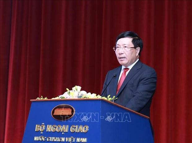促进越南与欧盟的全面合作 hinh anh 1