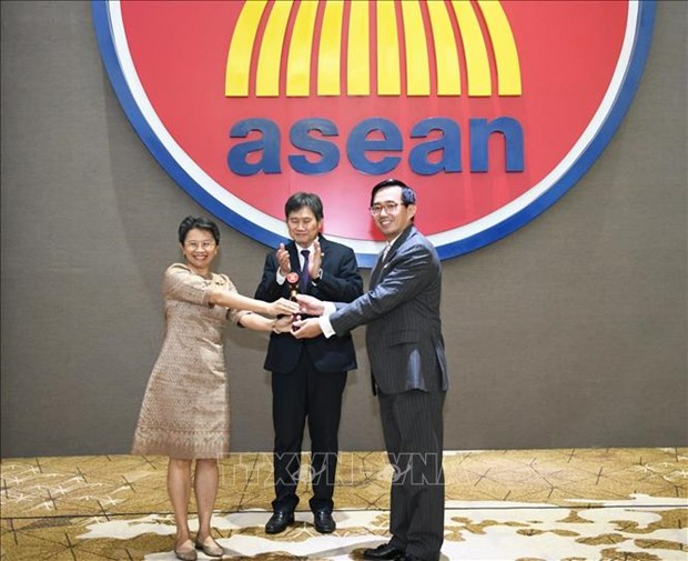 越南接任东盟常驻代表委员会主席职务 hinh anh 1