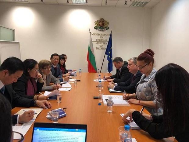 胡志明市高级代表团对保加利亚进行工作访问 hinh anh 2