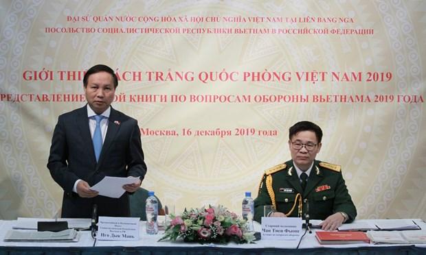 越南人民军建军75周年:防务合作成为越南与多个国家关系中的核心支柱 hinh anh 3
