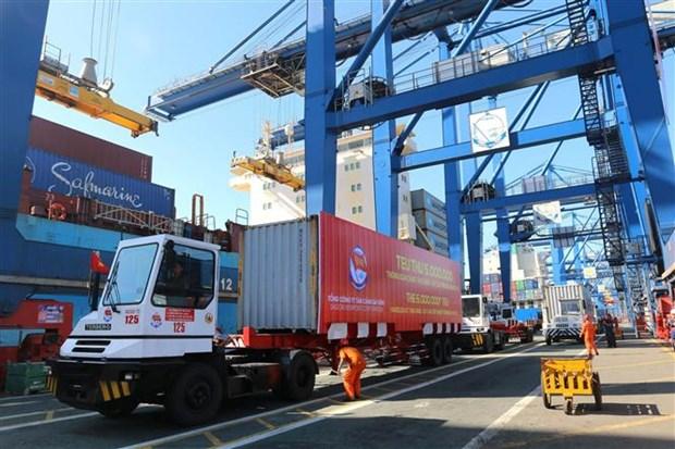 越南西贡新港总公司迎来第500万个标准箱 hinh anh 2