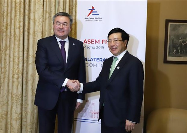 越南促进ASEM框架下的双边和多边合作 hinh anh 3