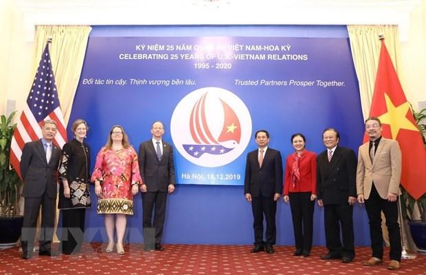 越美两国加强合作 庆祝两国建交25周年 hinh anh 1