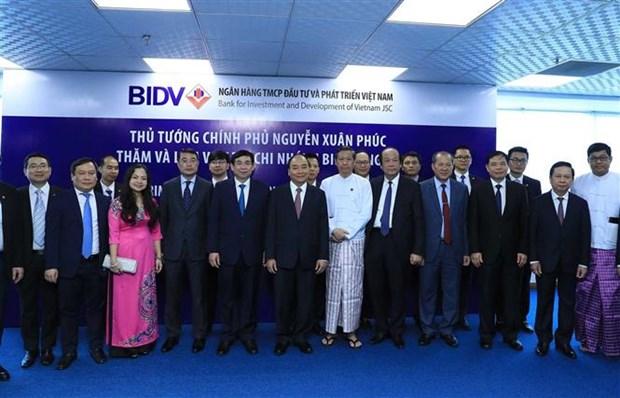 阮春福总理参观在缅的越南重点投资项目 hinh anh 3