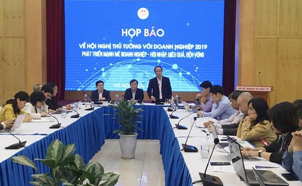 2019年政府总理与企业会议将吸引约1000名代表与会 hinh anh 1
