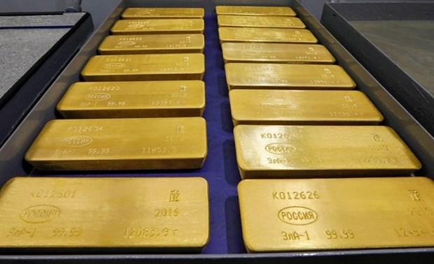 12月19日越南国内黄金价格略有下降 hinh anh 1