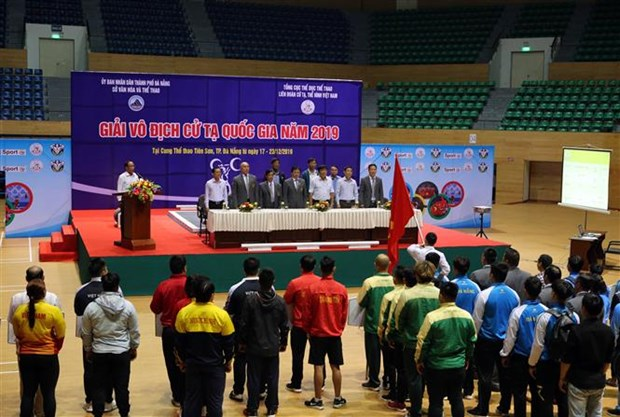 150名运动员参加2019年越南全国举重锦标赛 hinh anh 1