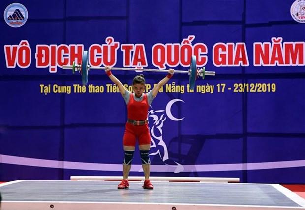 150名运动员参加2019年越南全国举重锦标赛 hinh anh 2
