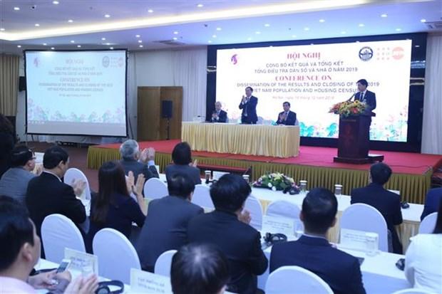 2019年越南人口和住房普查正式结果对外公布 hinh anh 2